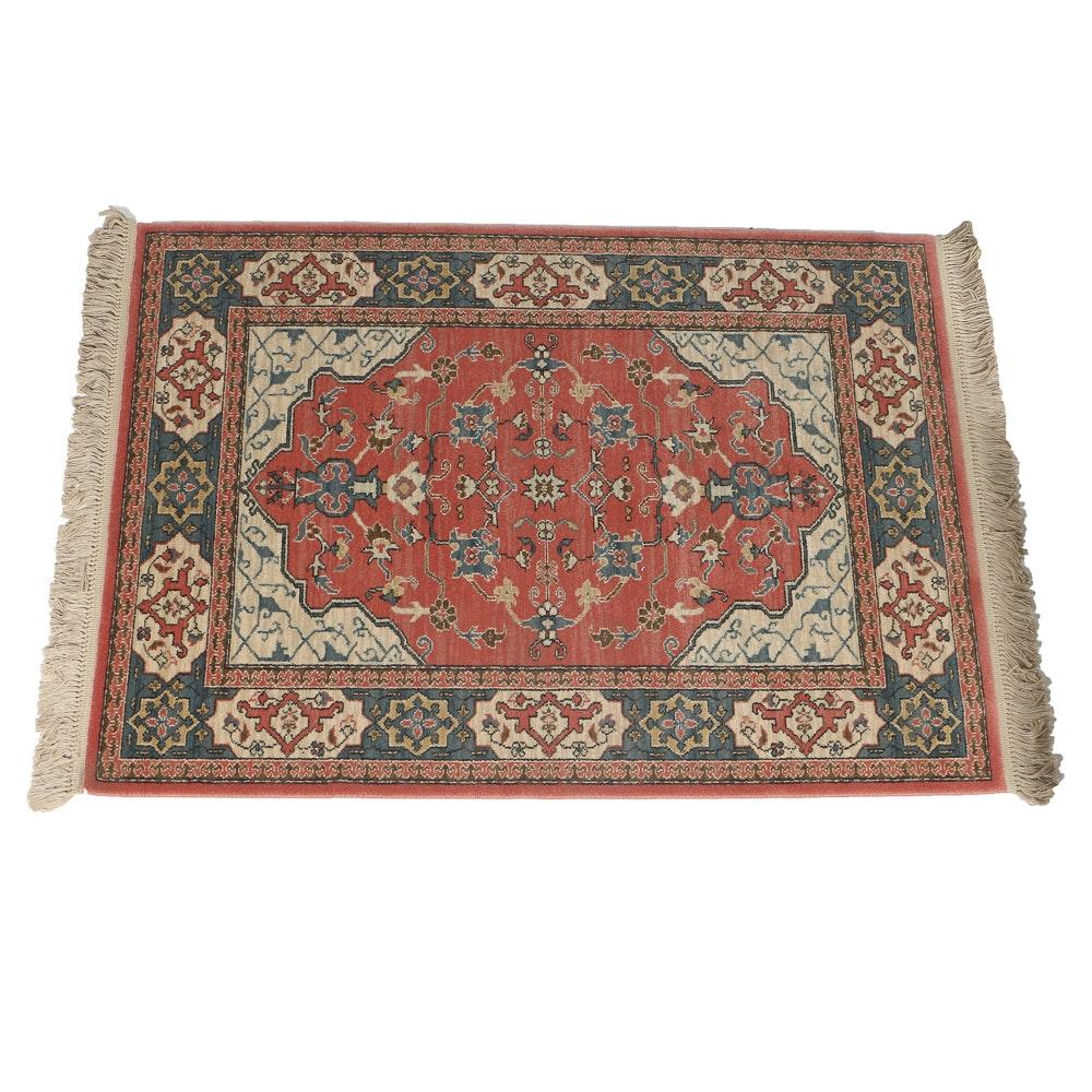 """Karastan All Wool """"Bergama"""" Area Rug in Pattern #737, New and Unused"""