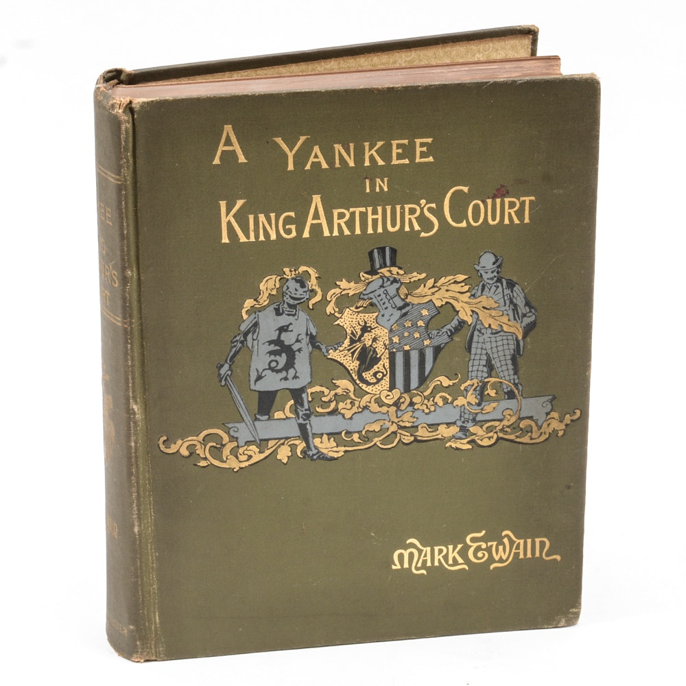 """First Edition """"A Yankee in King Arthur's Court"""" by Mark Twain"""