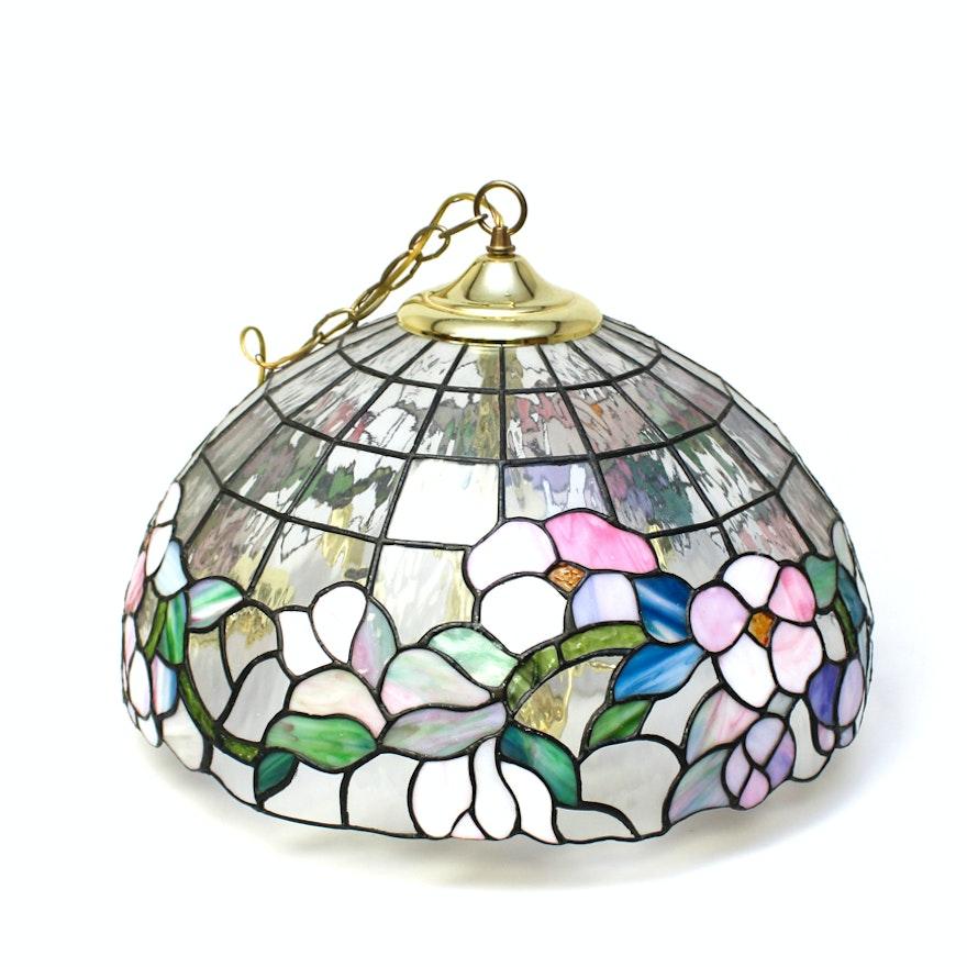 Stained glass pendant light ebth stained glass pendant light aloadofball Gallery