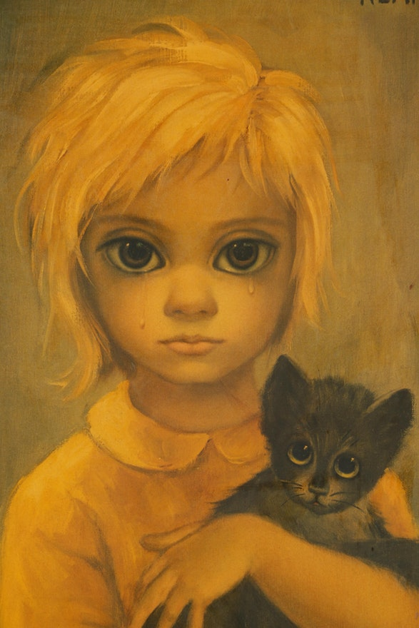 Reproduction Prints After Walter Keane Quot No Dogs Allowed