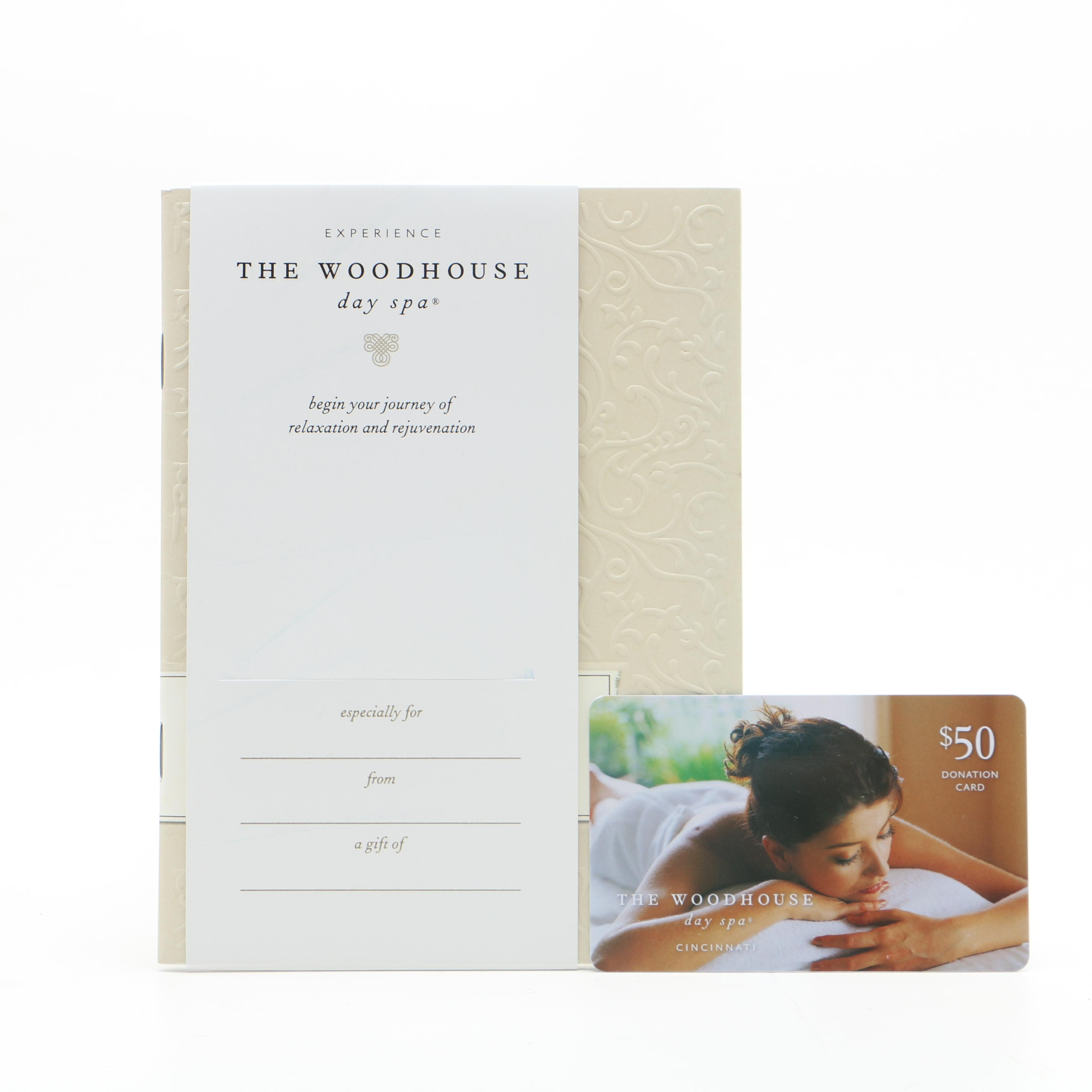 Woodhouse Day Spa Gift Certificate