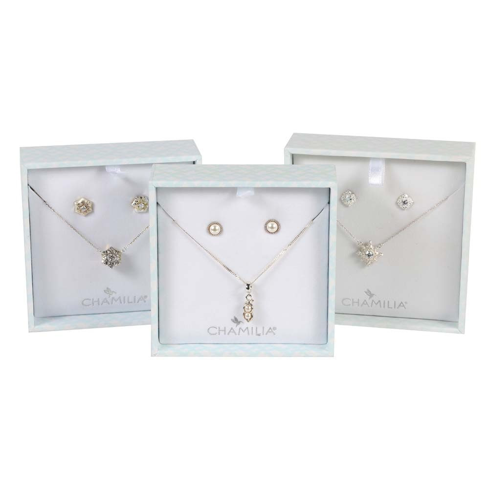 Chamilia Sterling Silver Jewelry Sets
