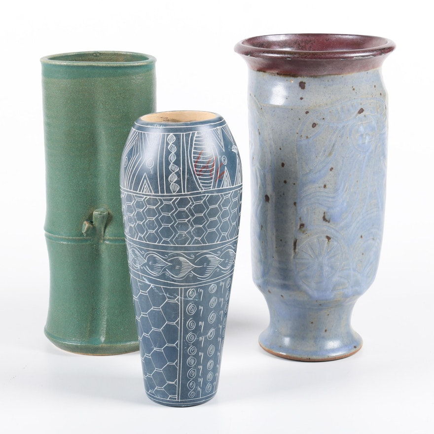 Ceramic Vase Decor Ebth