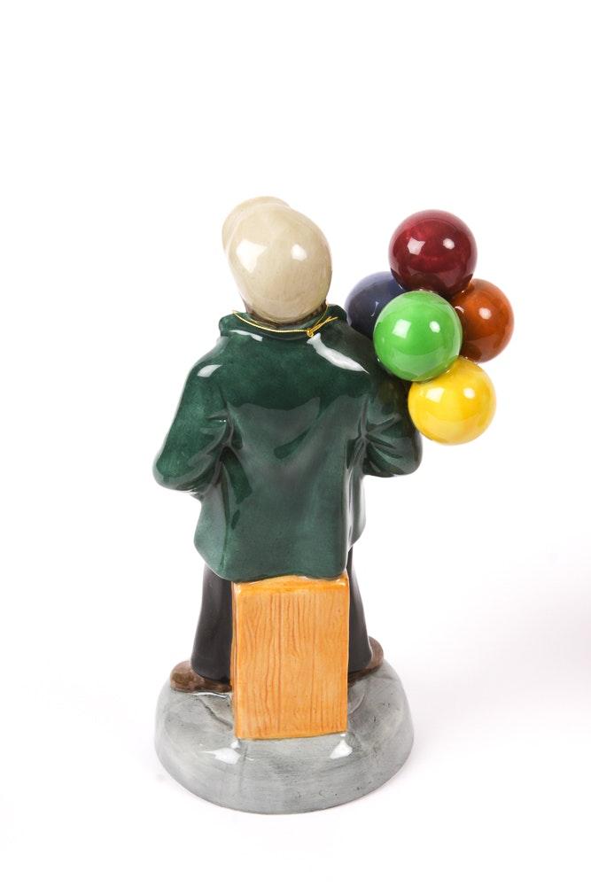 collection of royal doulton balloon seller figurines ebth