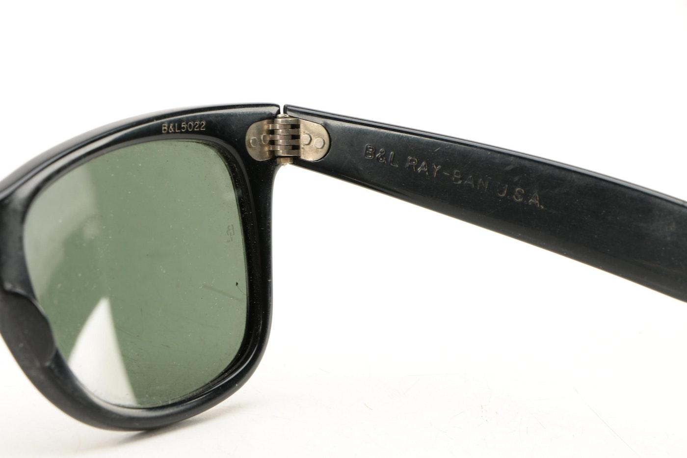 4635c3d91a Women  39 s B L Ray-Ban Wayfarer Sunglasses   EBTH