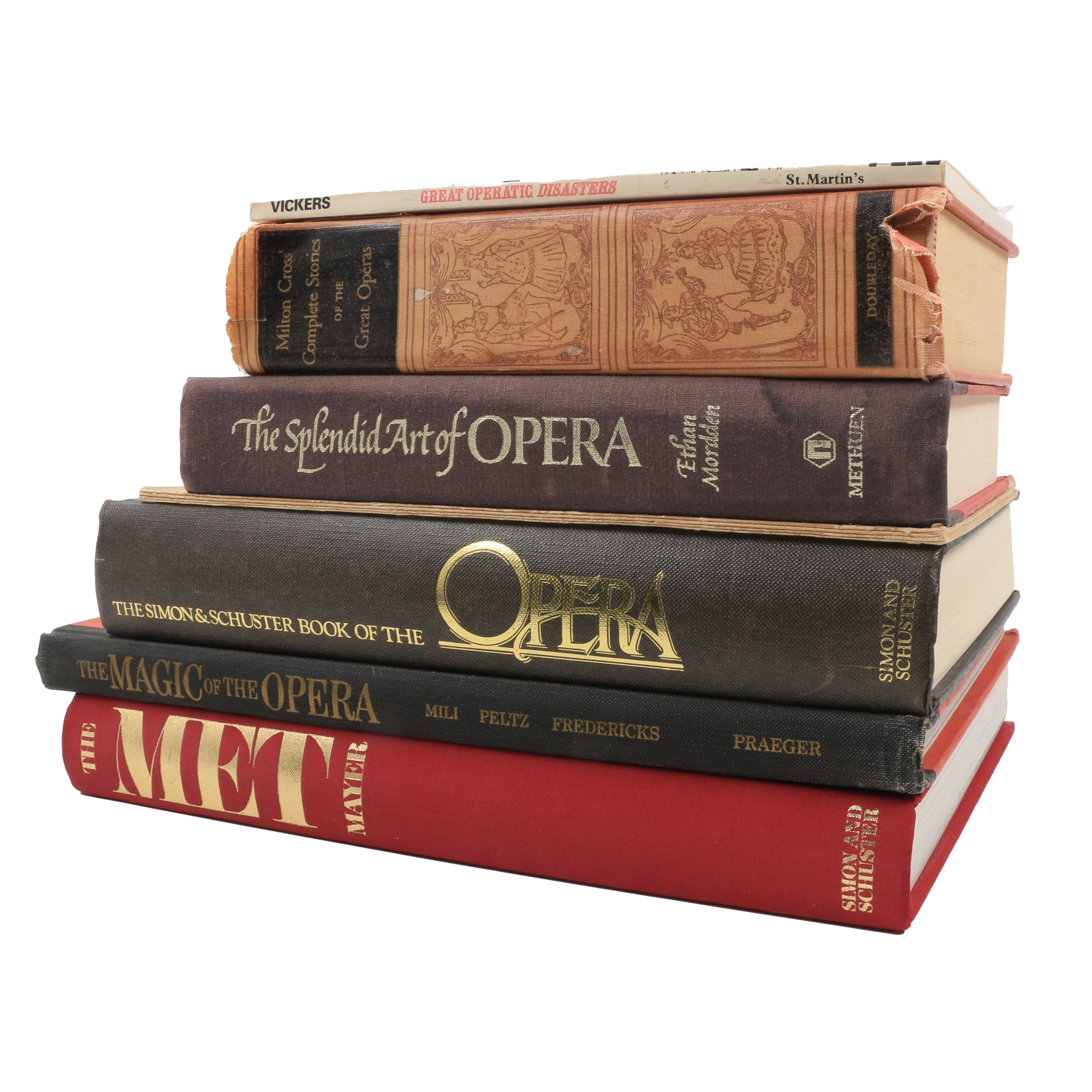 A Collection of Opera Books