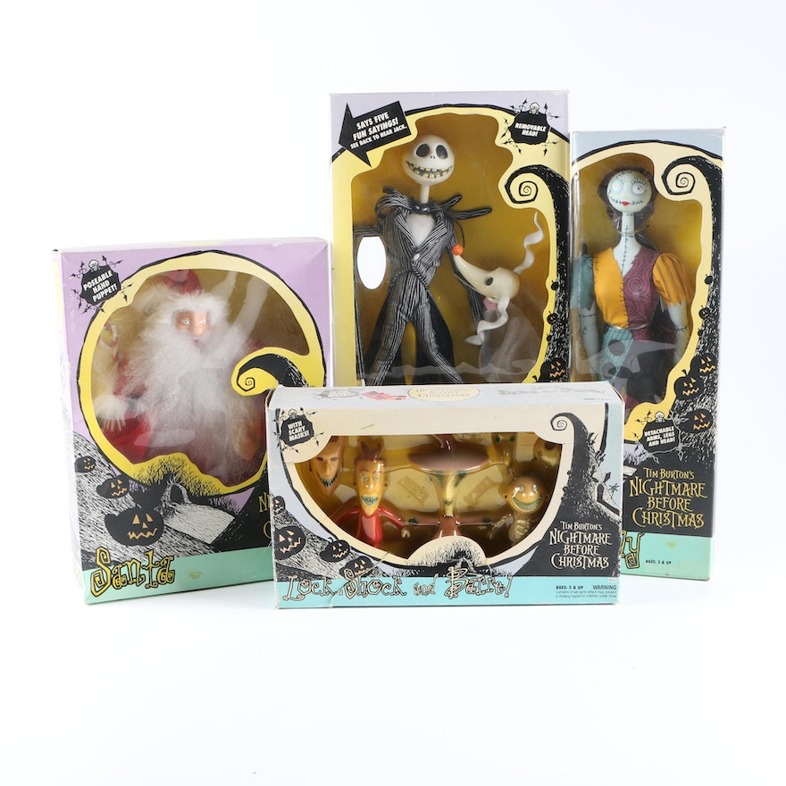 nightmare before christmas toys and action figures