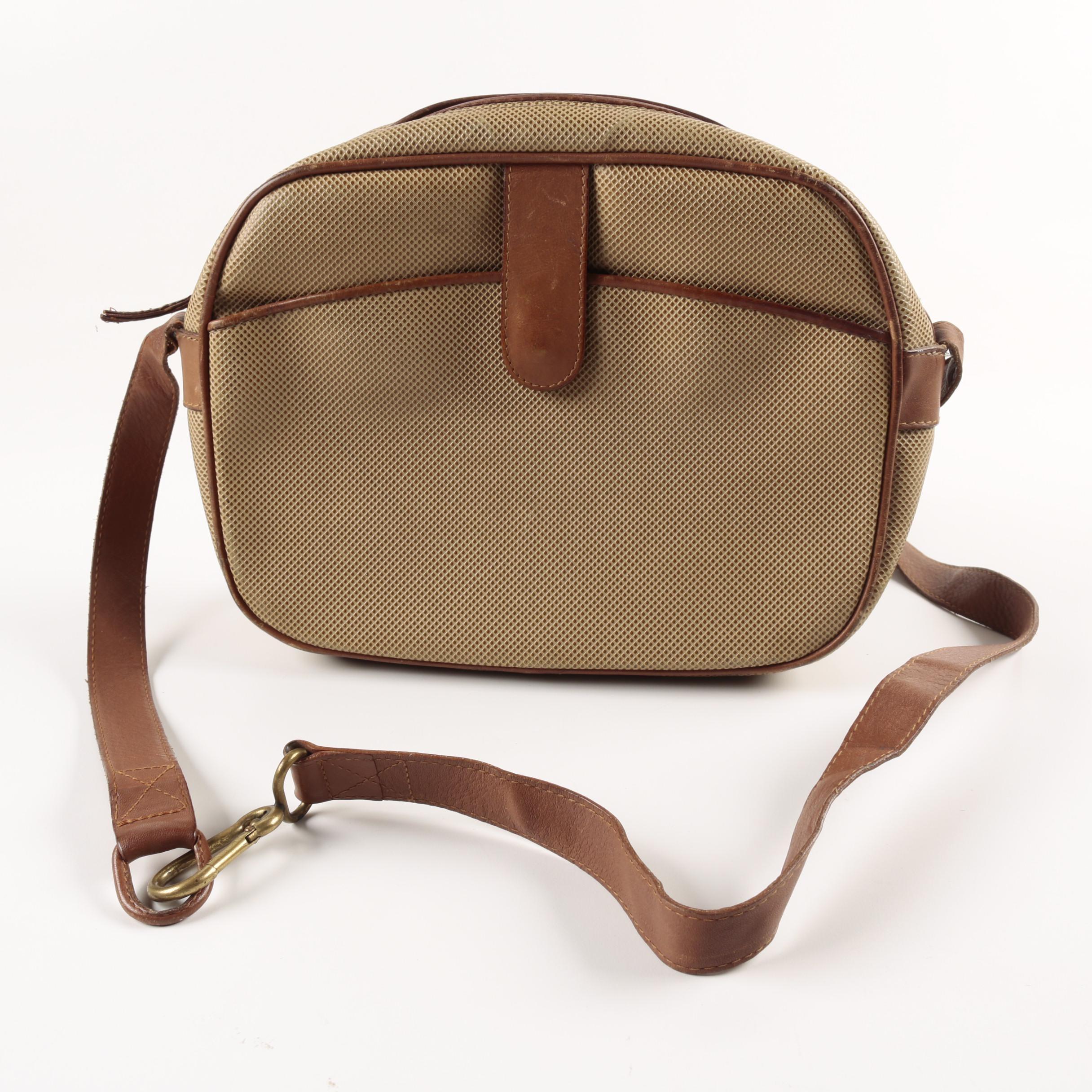 Bottega Veneta Tan Textured Leather Handbag