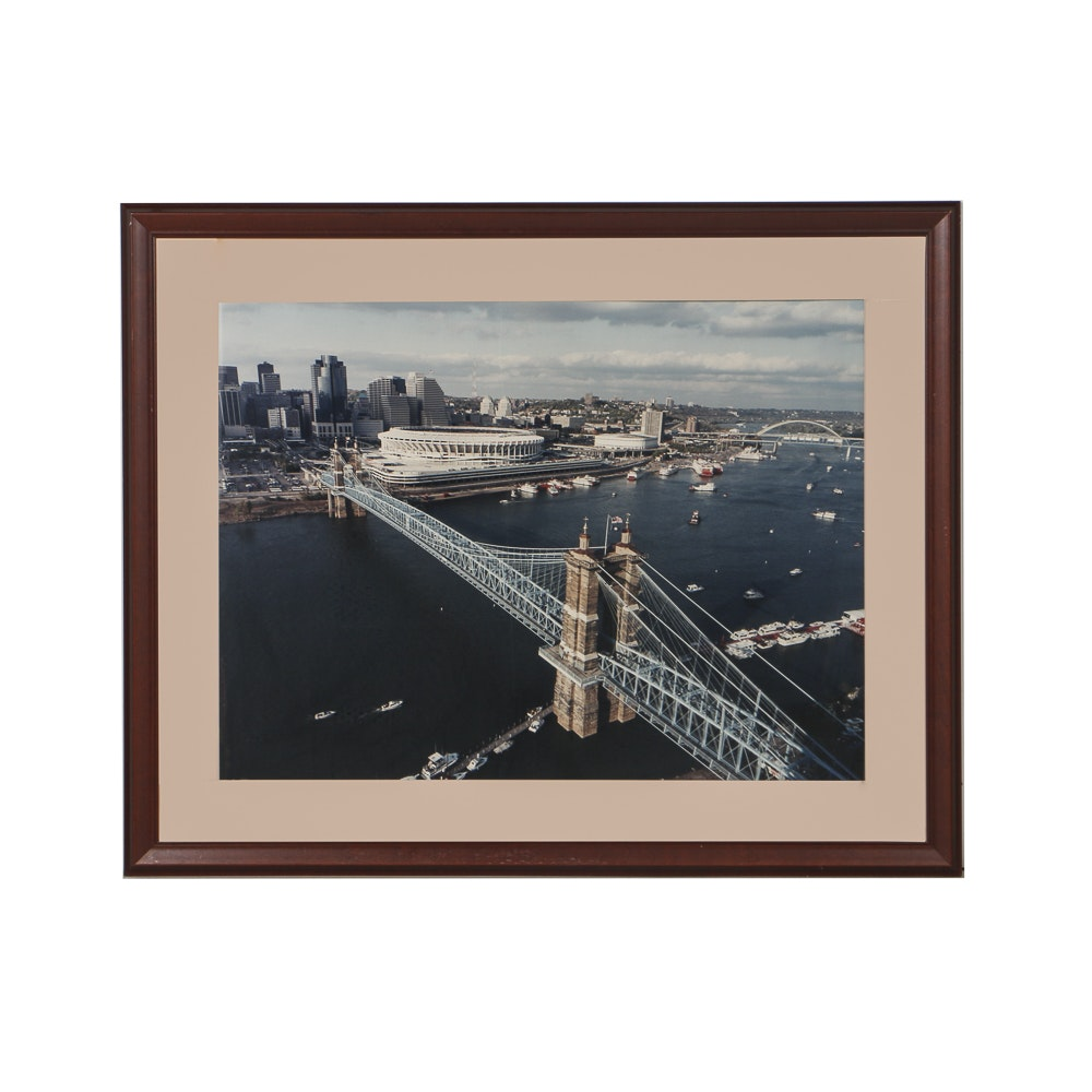 Suspension Bridge Photographic Print