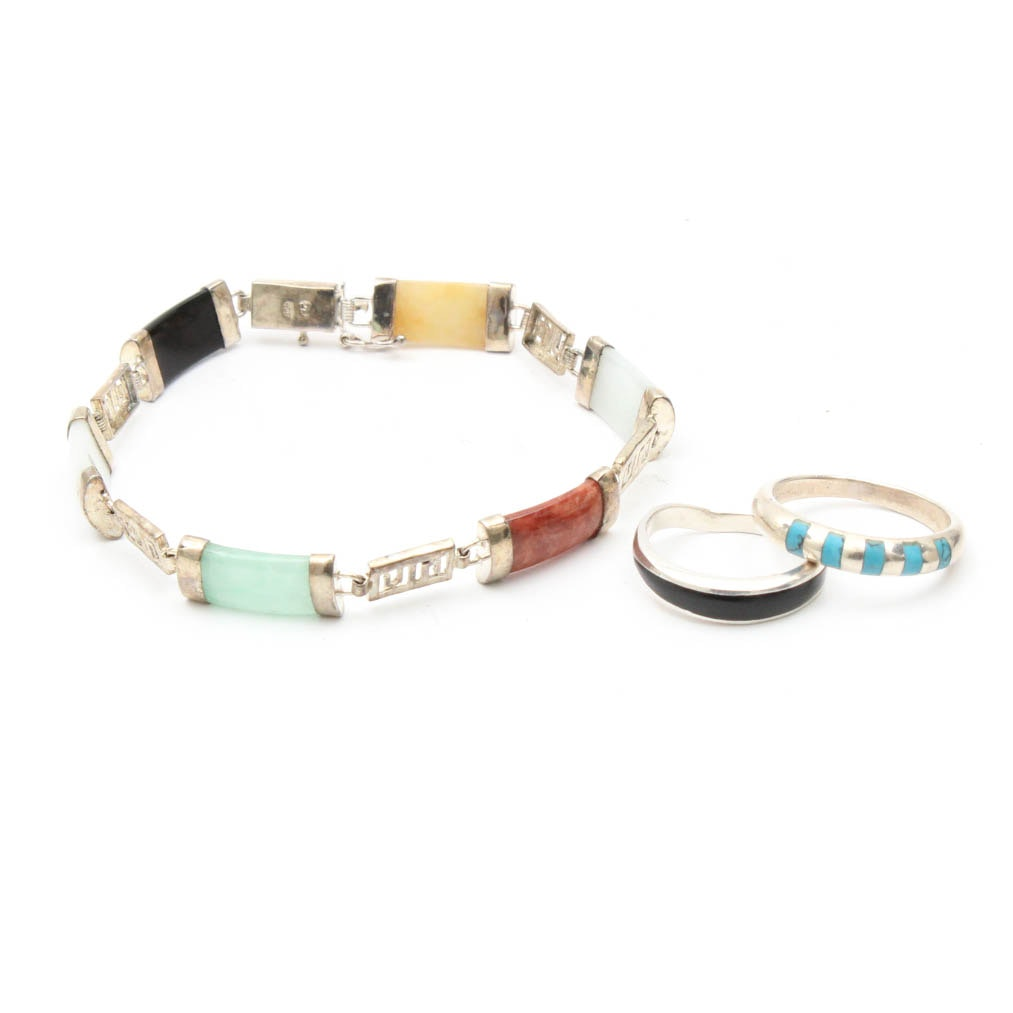 Sterling Silver and Gemstone Jewelry