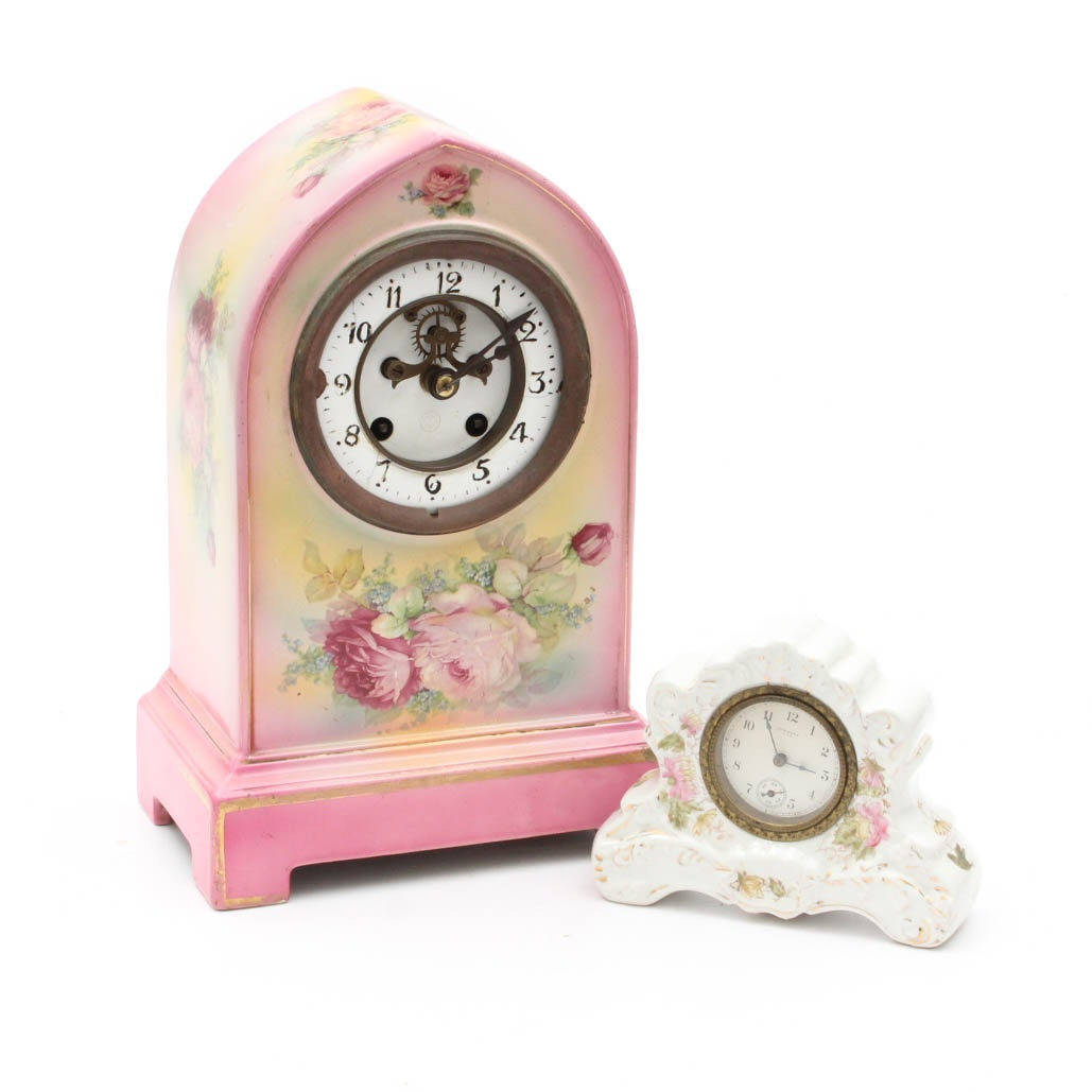 Porcelain Clocks