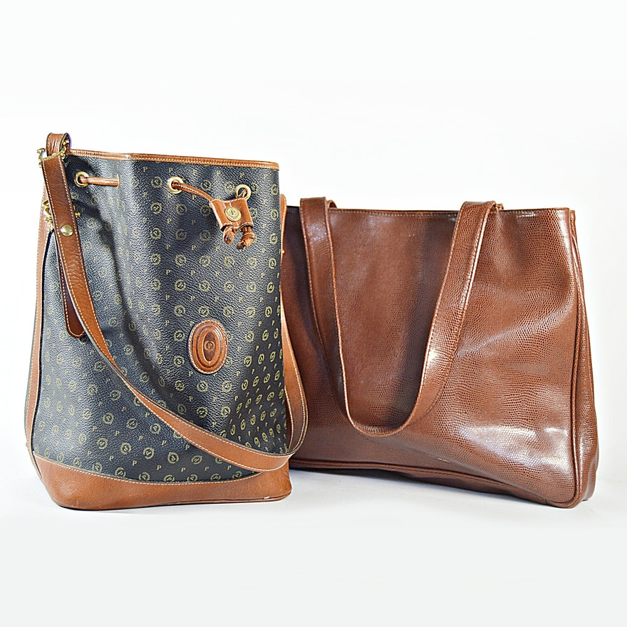 Italian Leather Handbags From Saks Fifth Avenue And Pollini