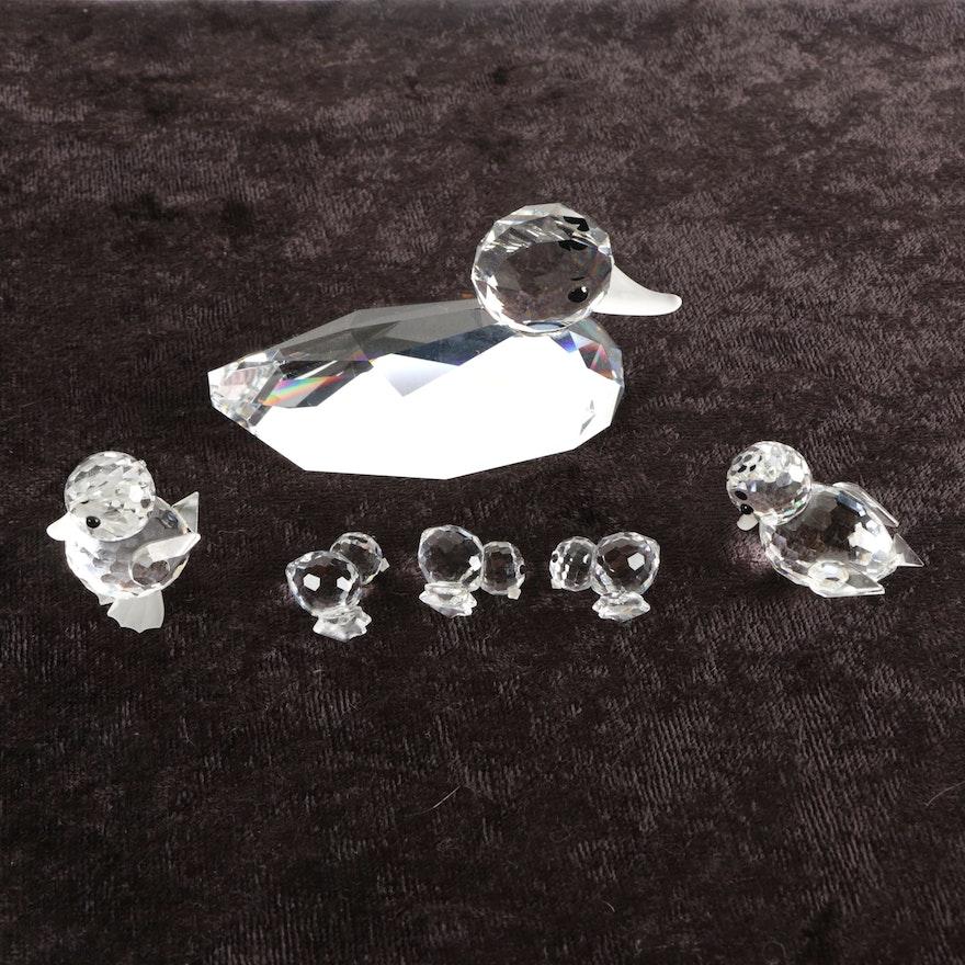 62ae39cd95219 Swarovski Crystal Duck Figurines