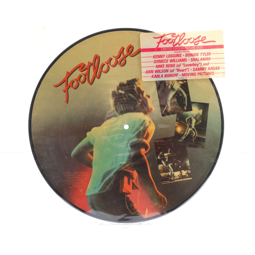Footloose Soundtrack Limited Edition Picture Disc Ebth