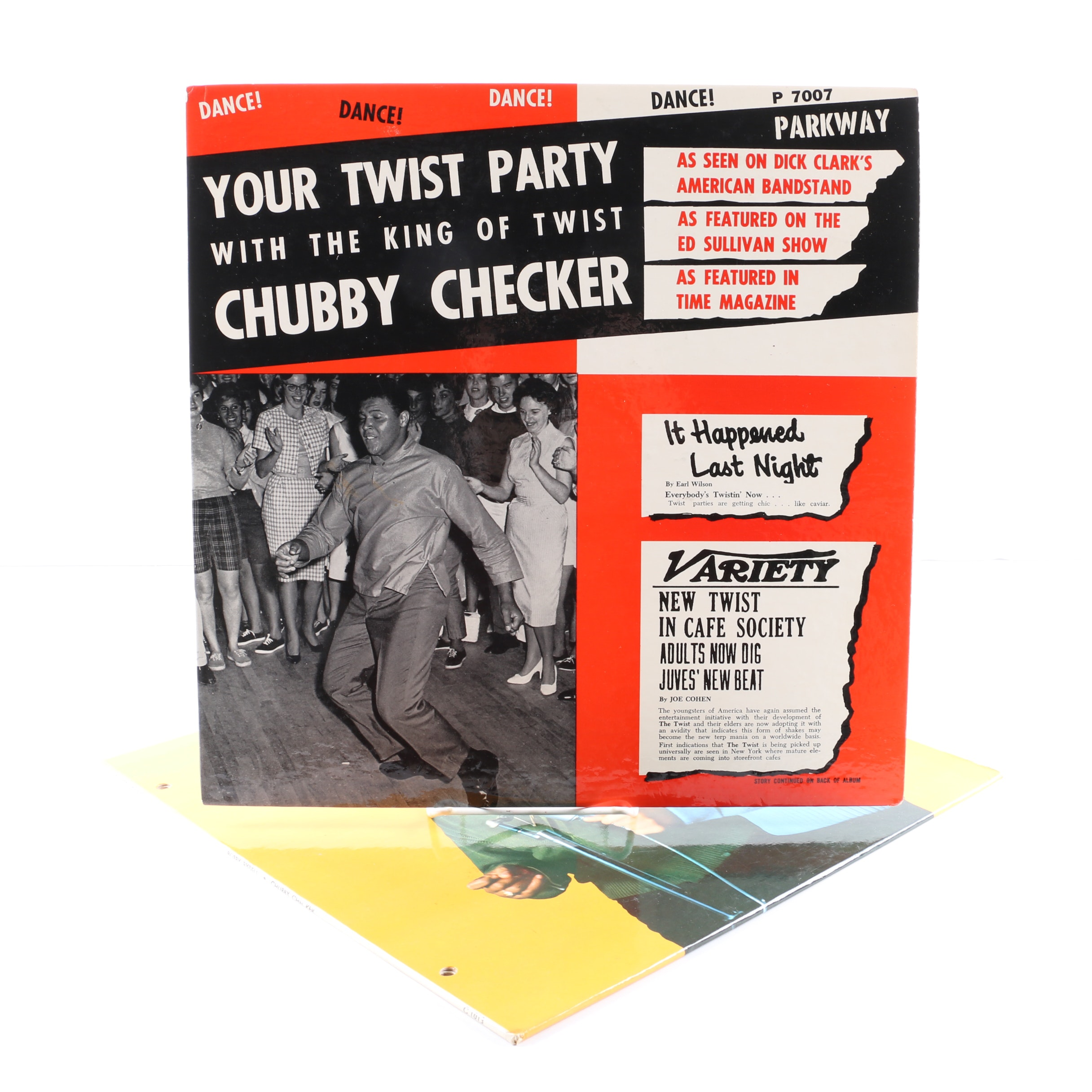 """Chubby Checker LPs Including """"Your Twist Party with the King Of Twist"""""""