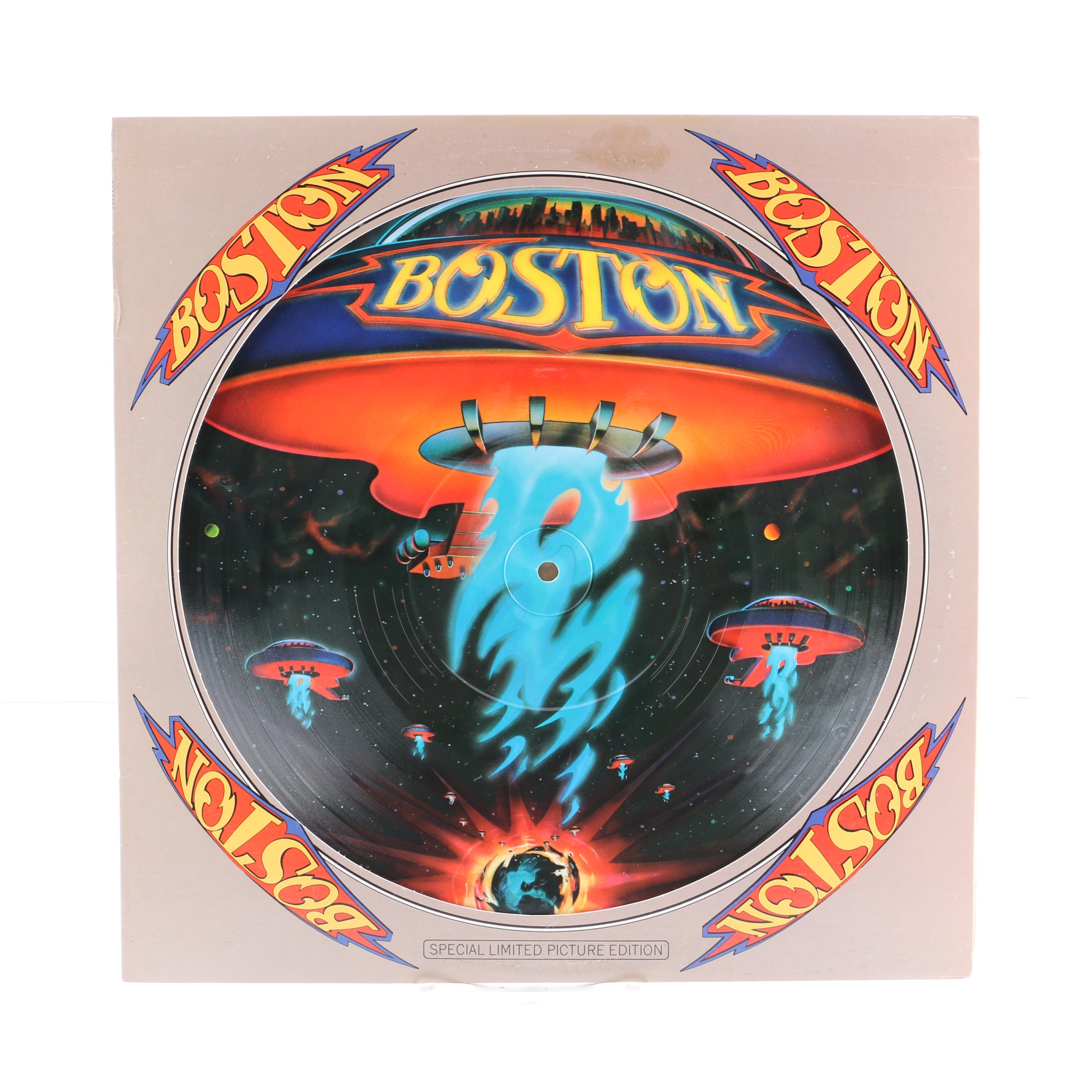 """Boston """"S/T"""" Limited Edition Picture Disc"""