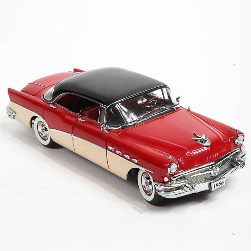 danbury mint 1956 buick roadmaster riviera die cast car ebth. Black Bedroom Furniture Sets. Home Design Ideas