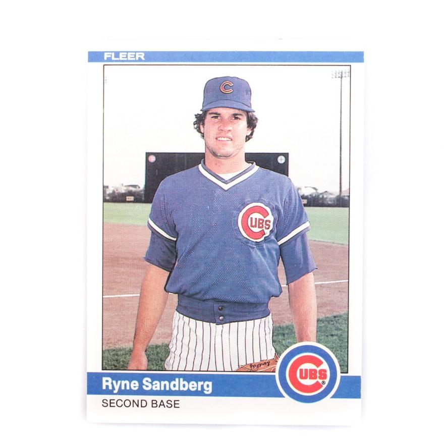 1984 Ryne Sandberg Baseball Card