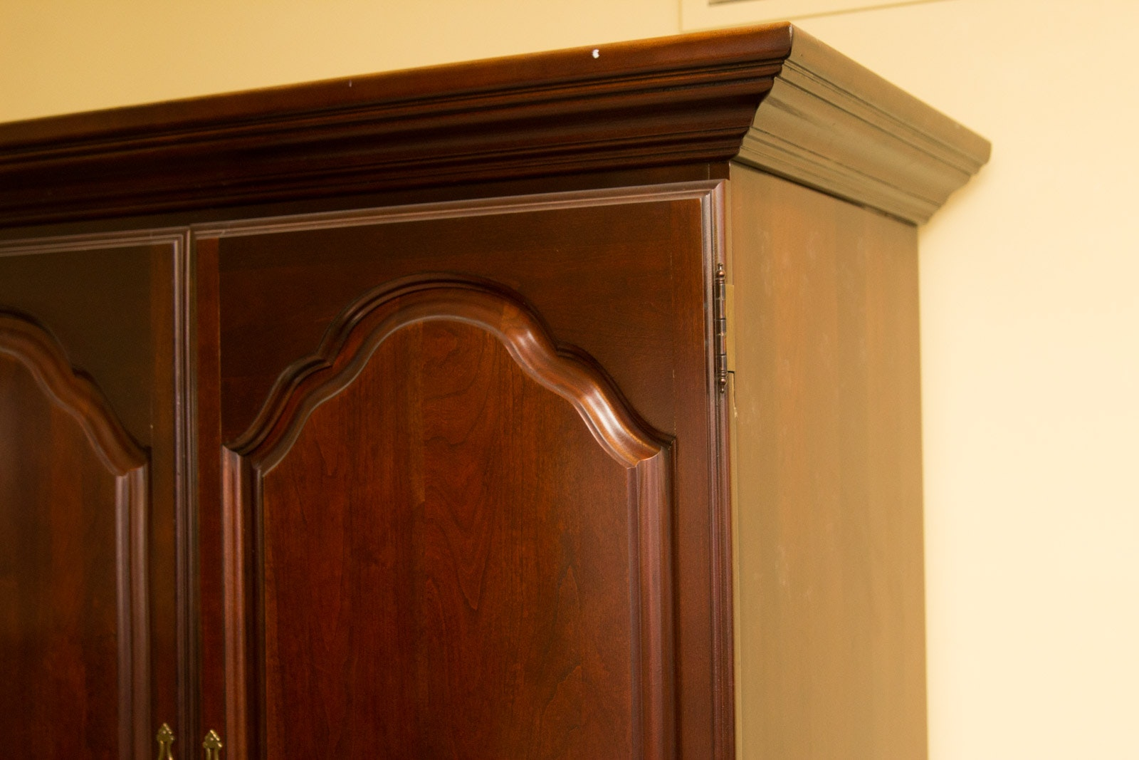Virginia House Chippendale Style Cherry Television Armoire