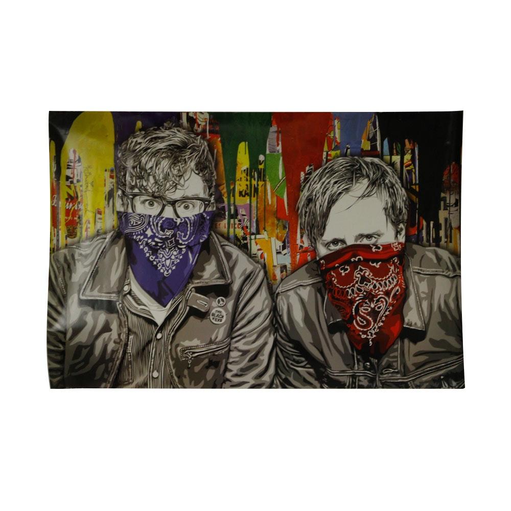 "Black Keys ""Mr. Brainwash"" Offset Lithograph Poster"