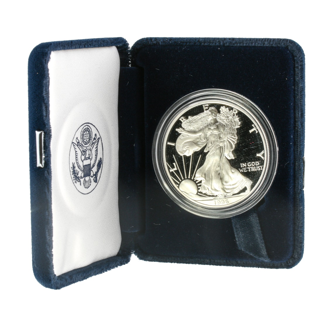 1996 Walking Liberty Silver Eagle Proof Coin
