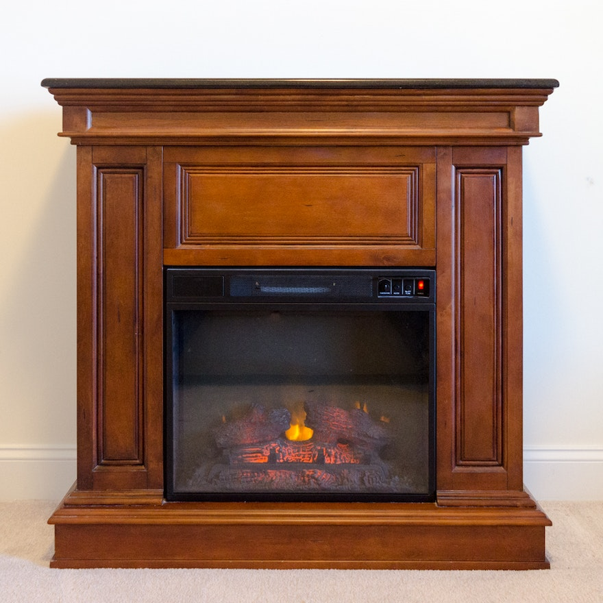 A Twin-Star International Inc. electric fireplace