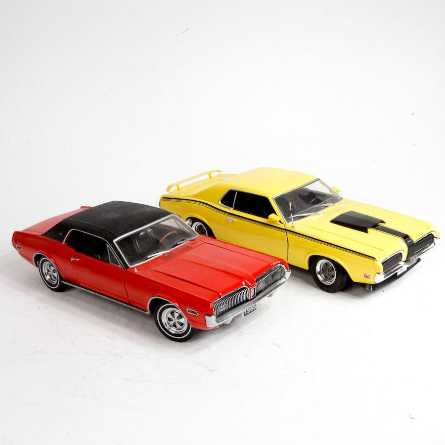 Mercury Cougar Die-Cast Muscle Cars : EBTH