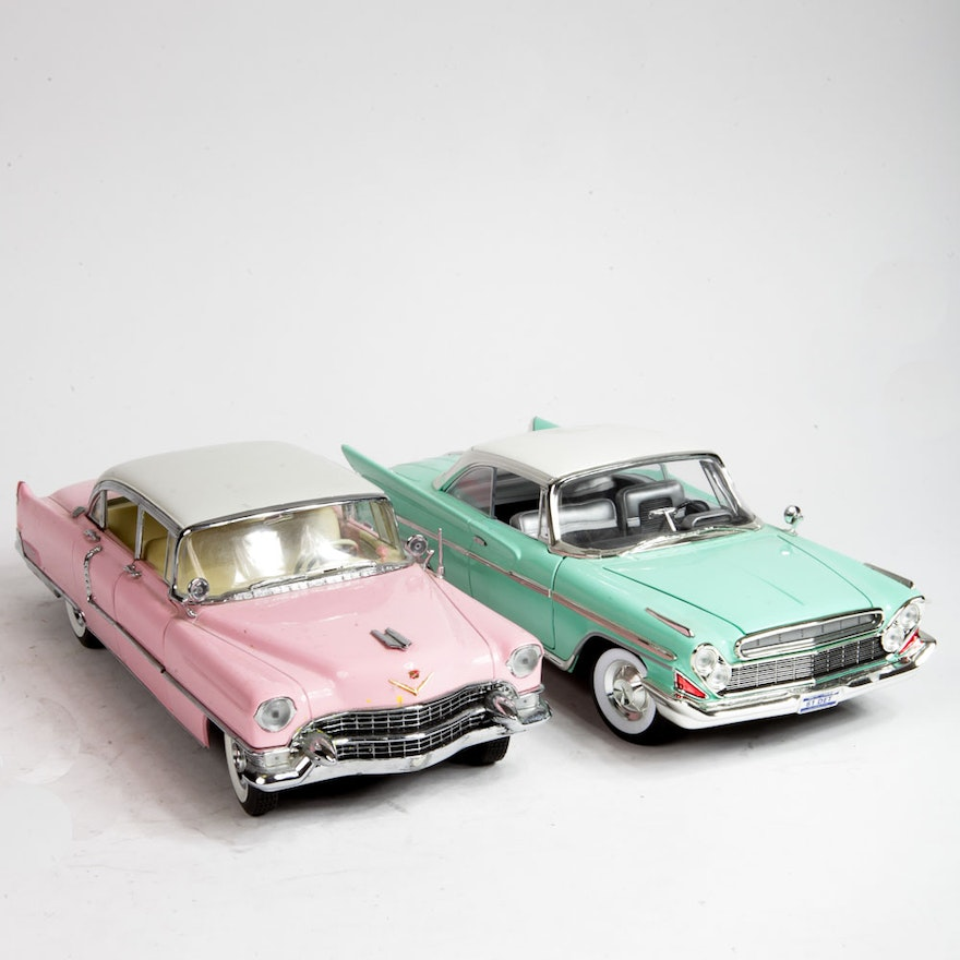 Elvis Presley's Pink Cadillac And Mint Green Chrysler