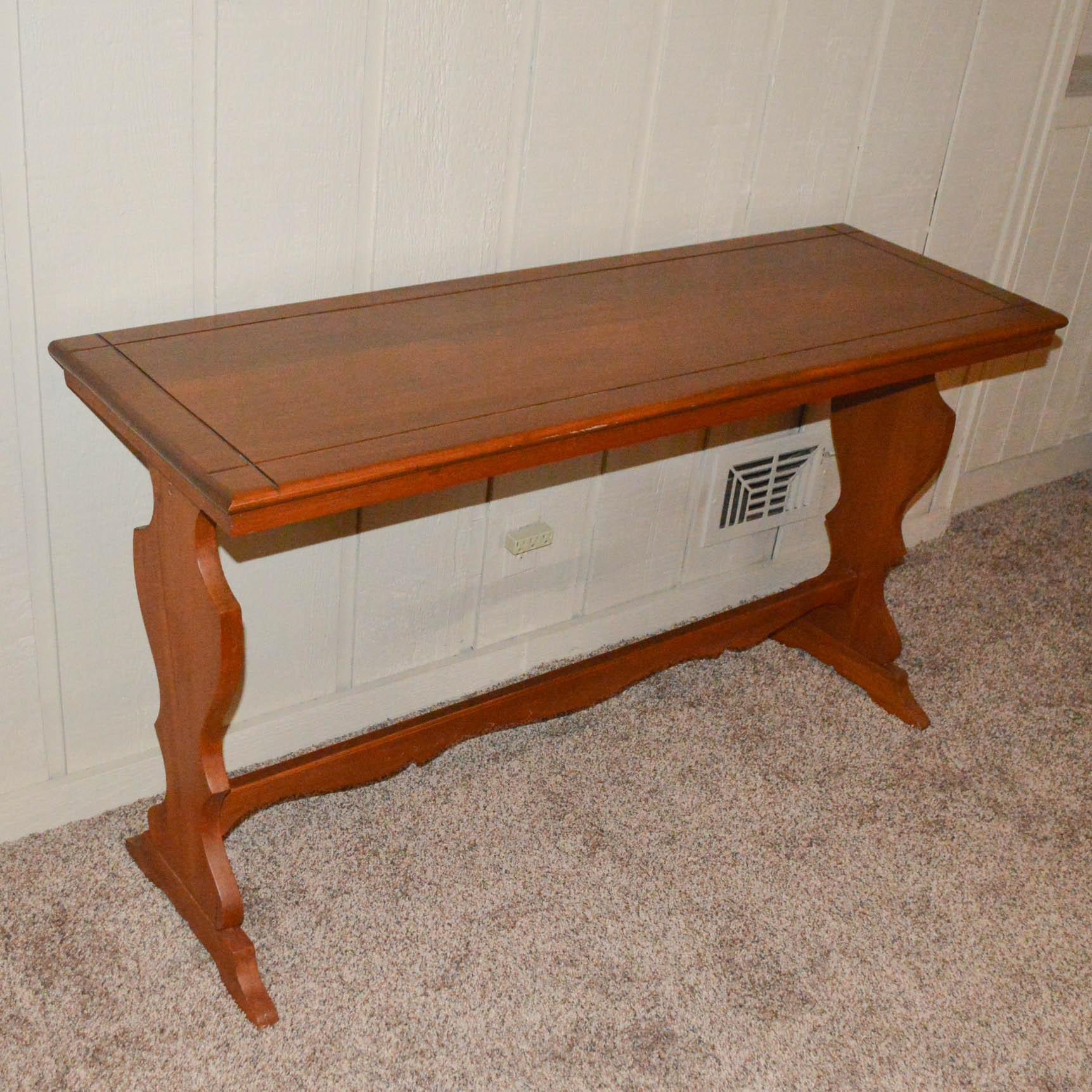 Farmhouse Style Console Table