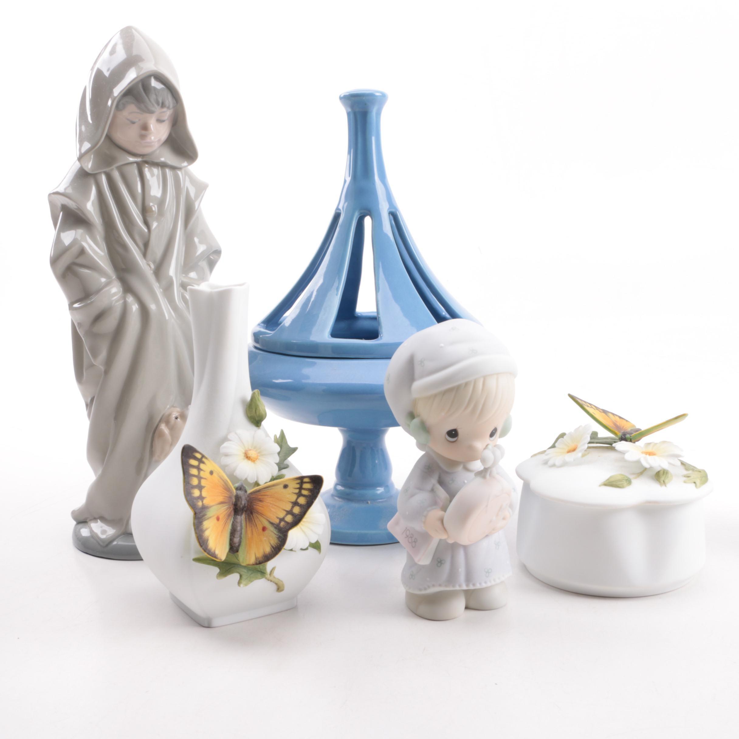 Assortment Of Decorative Pieces Ebth