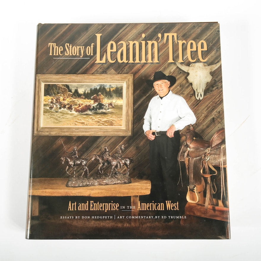 First edition signed the story of leanin tree by don hedgpeth m4hsunfo