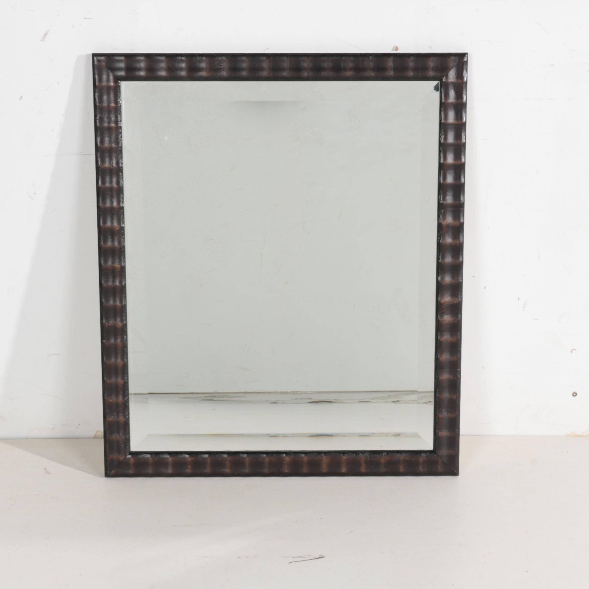 Italian Made Wood Framed Wall Mirror