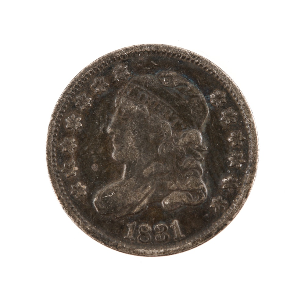 1831 Capped Bust Half-Dime