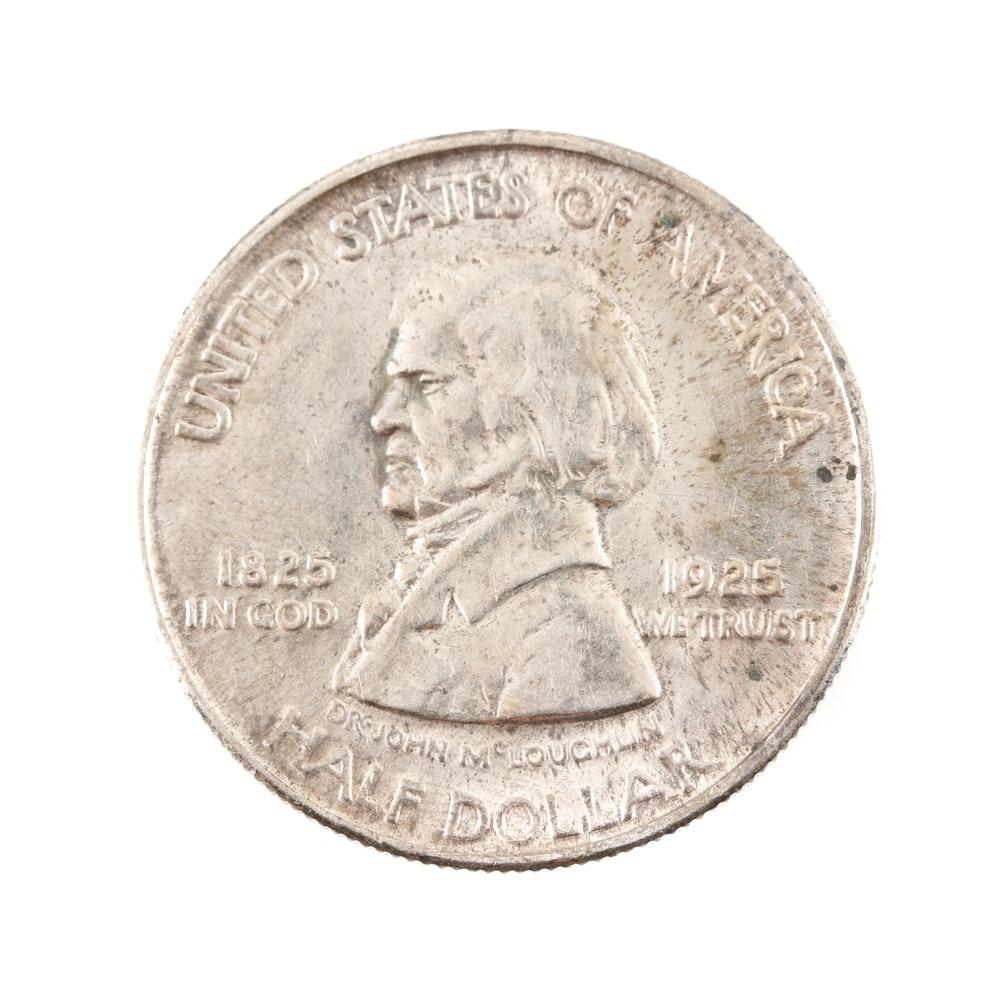Rare 1925 Fort Vancouver Centennial Silver Half-Dollar