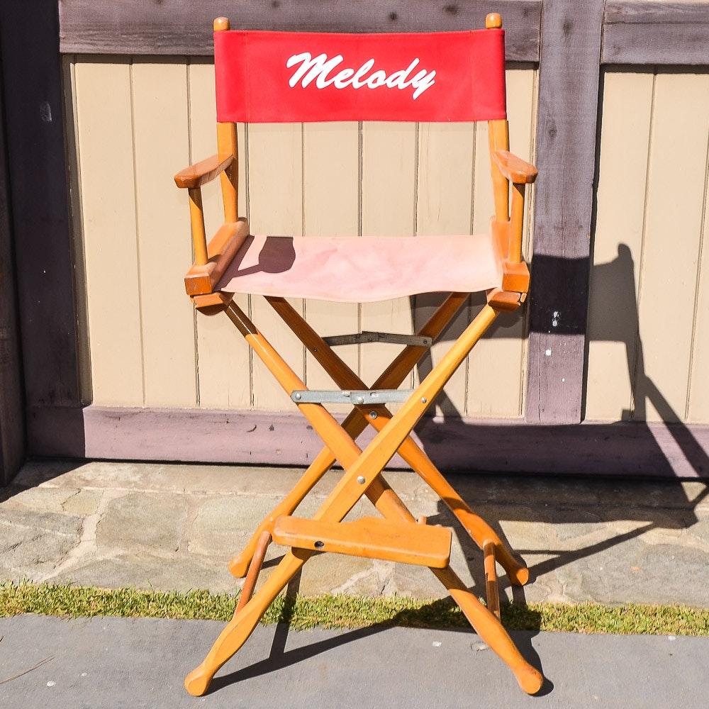 Melody Scott Directors Chair