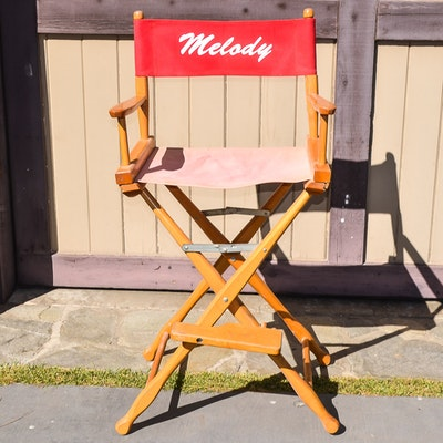 Melody Scott Directors Chair