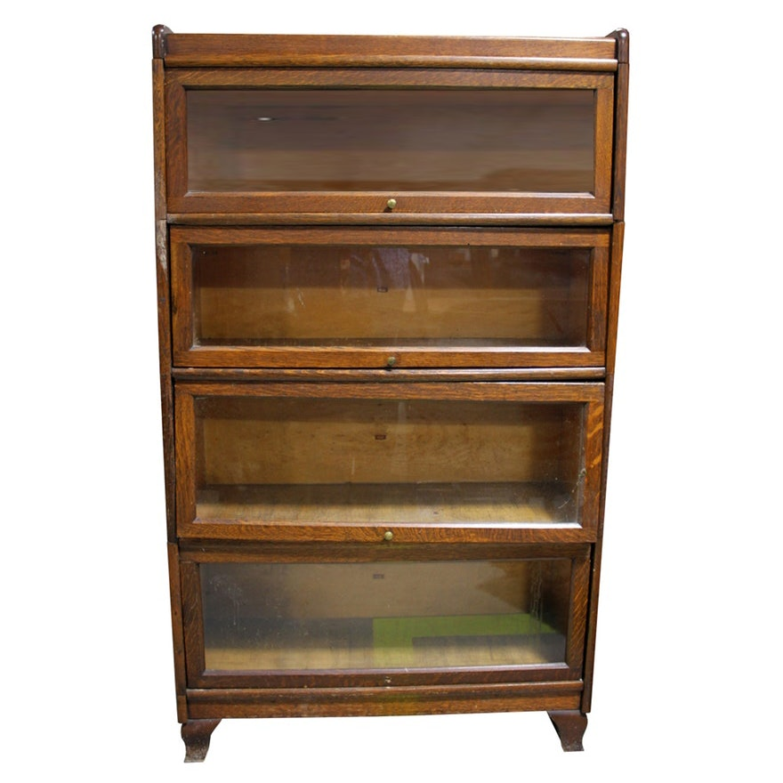 products barristers w vintage s max convert barrister front tier three macey bookcases bookcase industrial fit antique glass cabinet