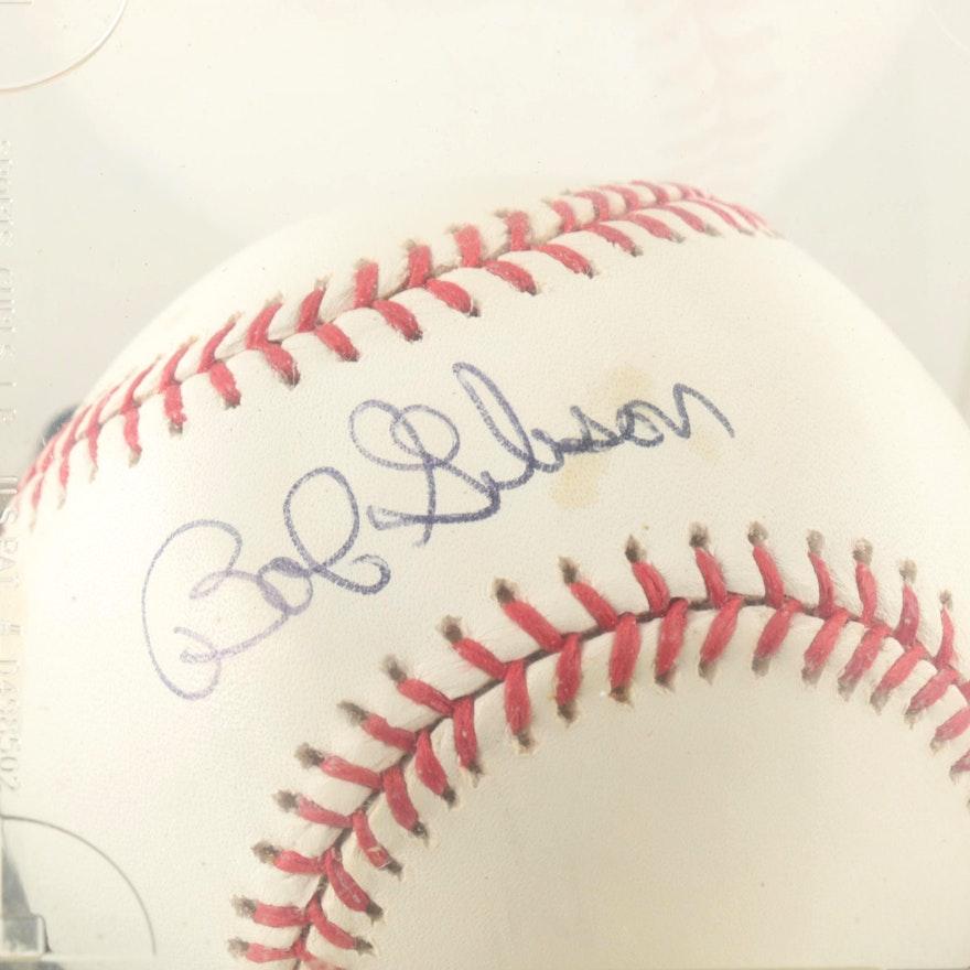 f7eab826603 Bob Gibson Signed Baseball   EBTH
