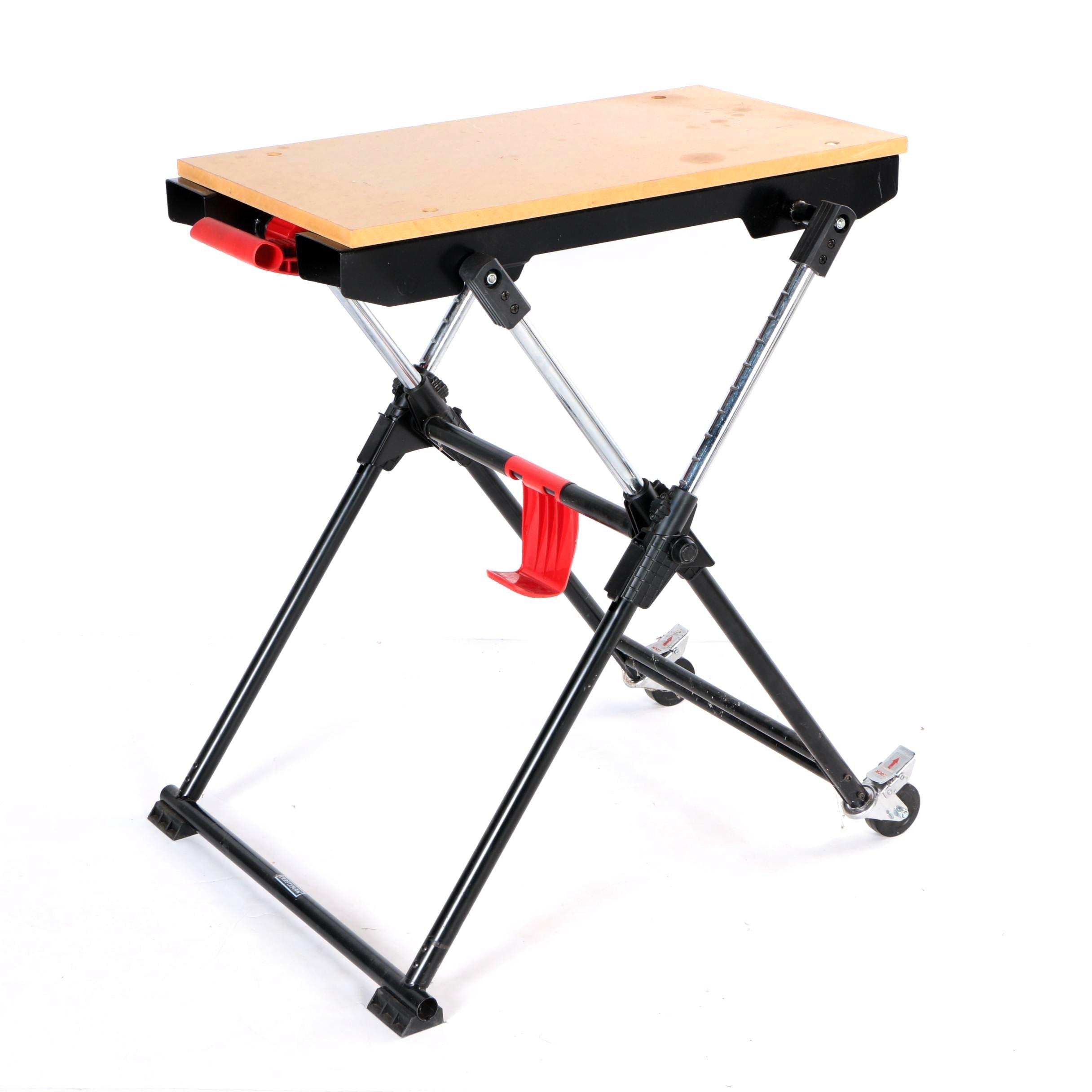Beau Craftsman Folding Work Table ...