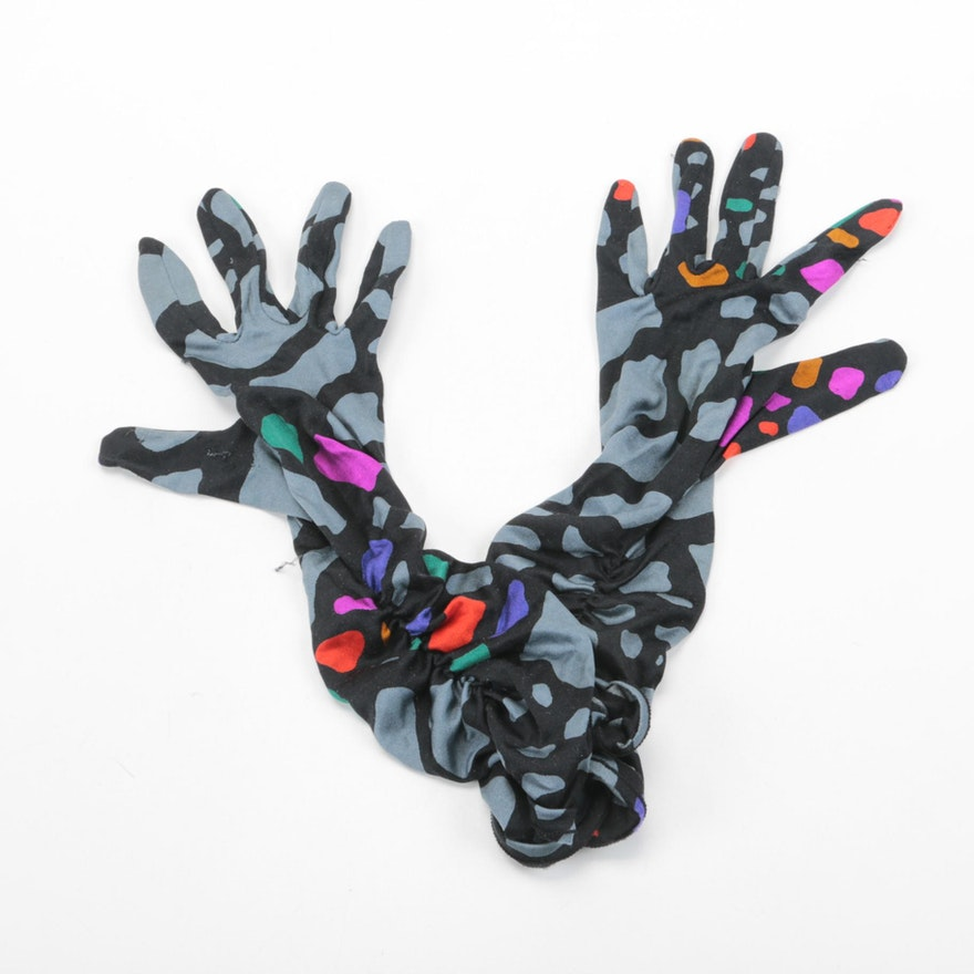 Women's Missoni Knit Gloves