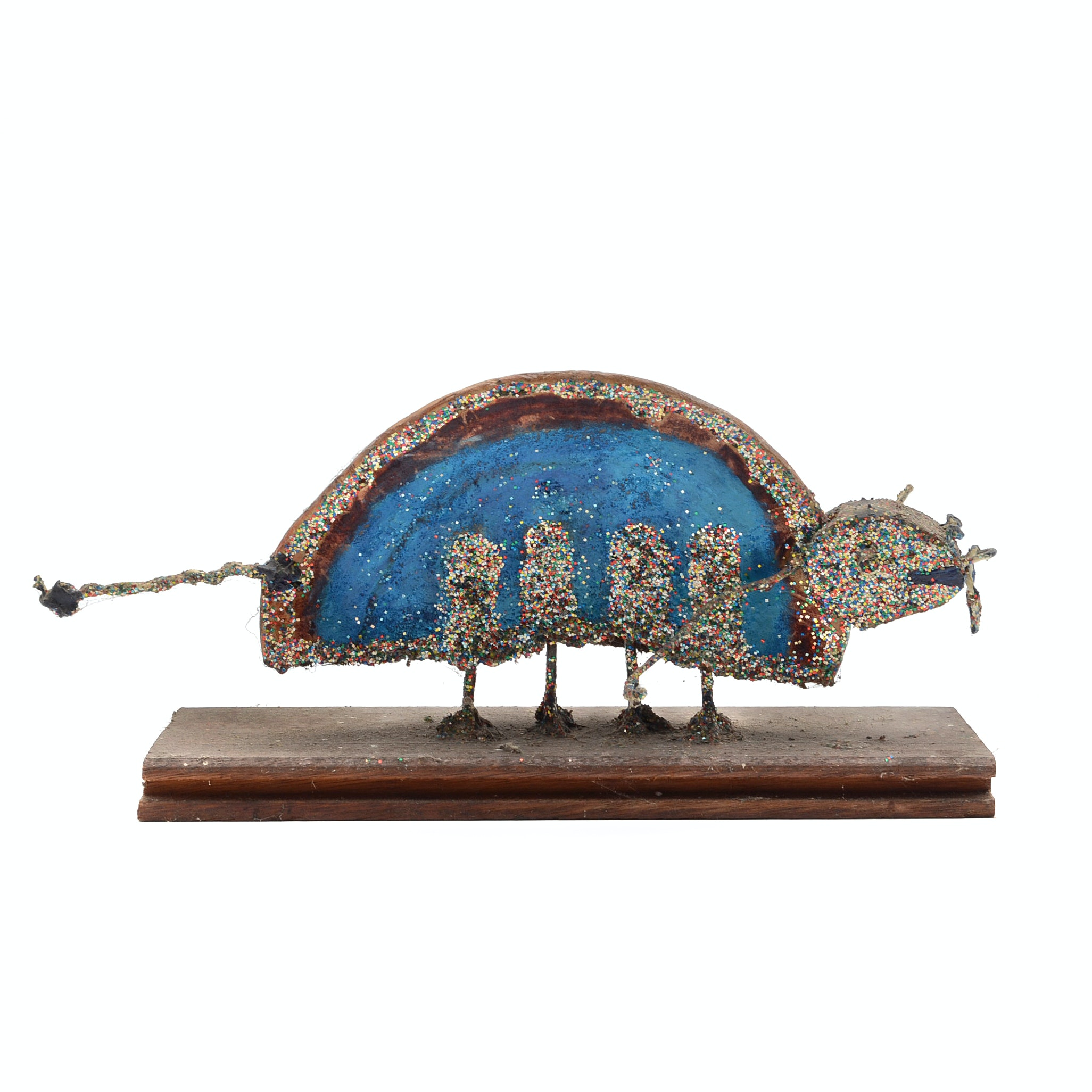 "Norman Scott Quinn Folk Art Sculpture ""Glitter Bug"""