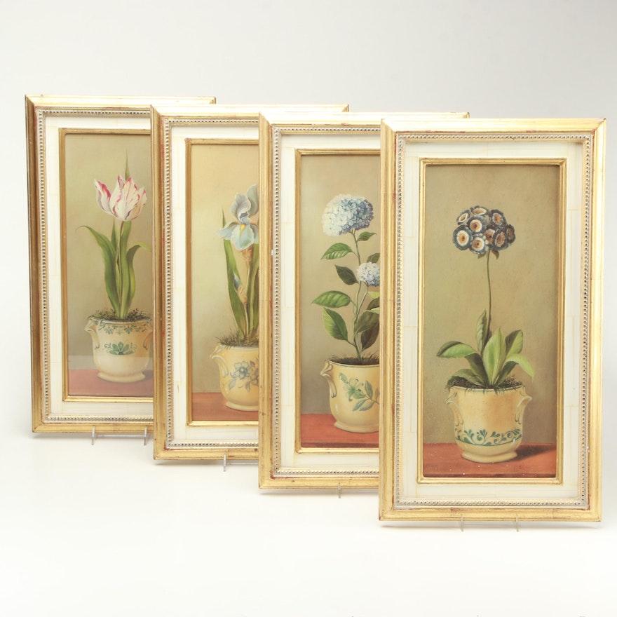 Reproduction Prints on Paper After Fabrice de Villeneuve Paintings ...