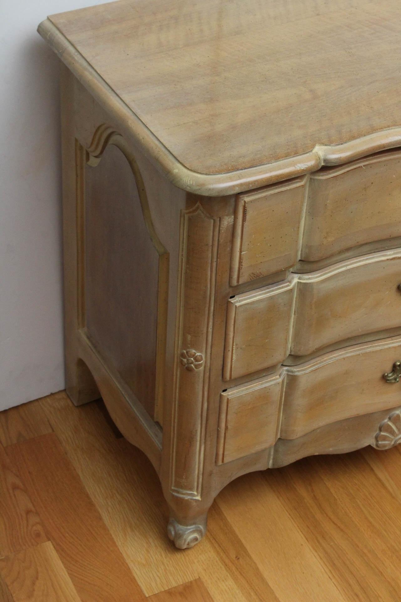 French Provincial Style Nightstand by Wellington Hall : EBTH