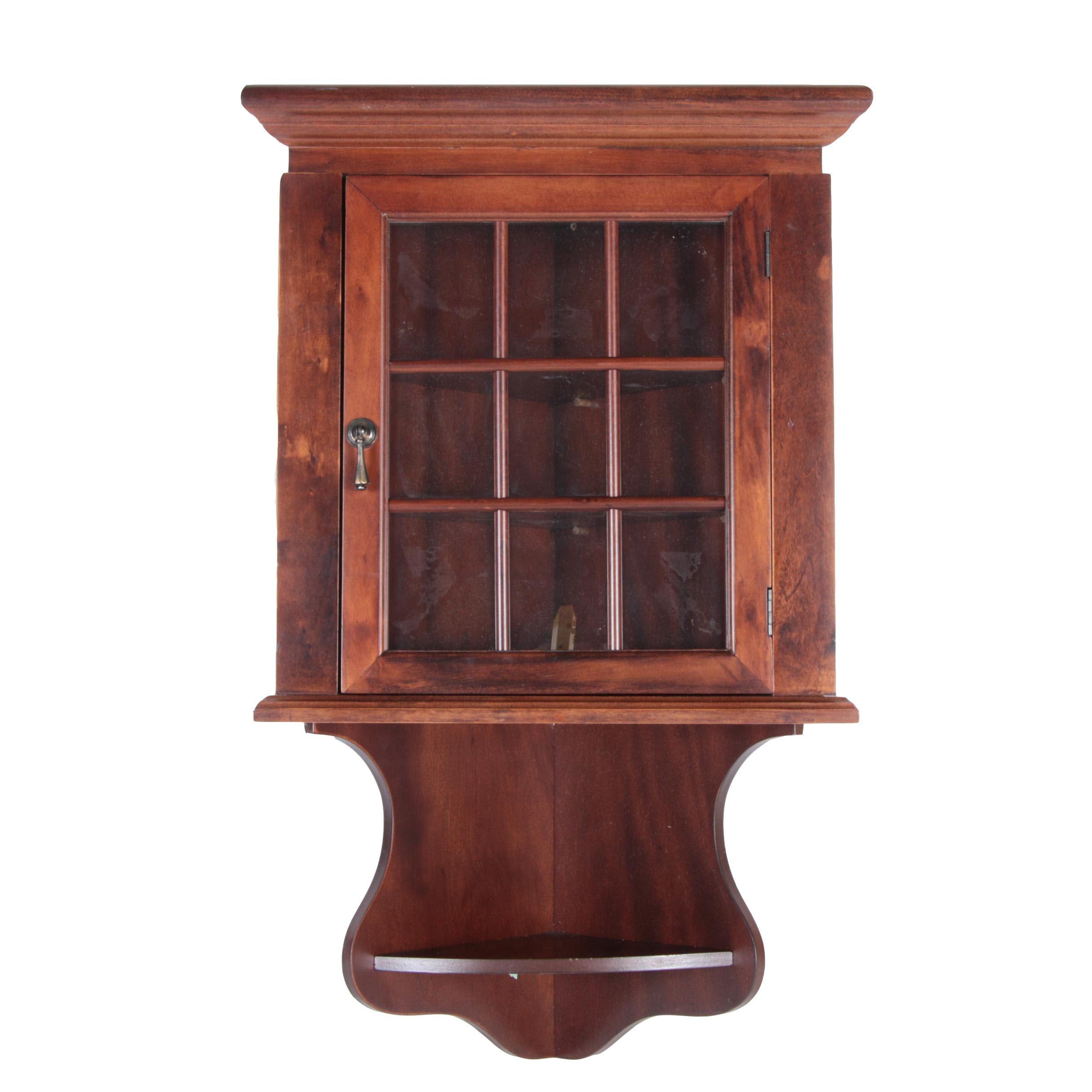 Amazing Corner Cabinet Shelf By The Bombay Company ...