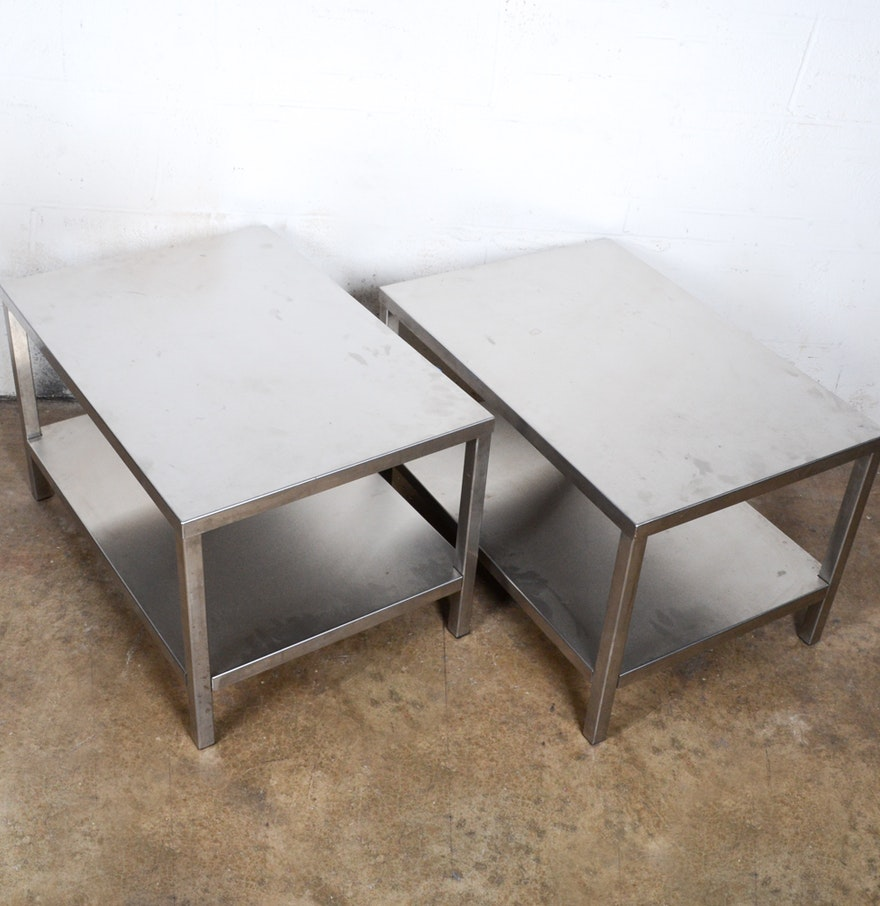Vintage metal coffee tables ebth vintage metal coffee tables geotapseo Image collections