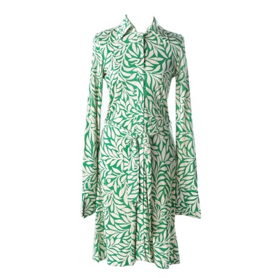Diane von Furstenburg Silk Shirtwaist Dress