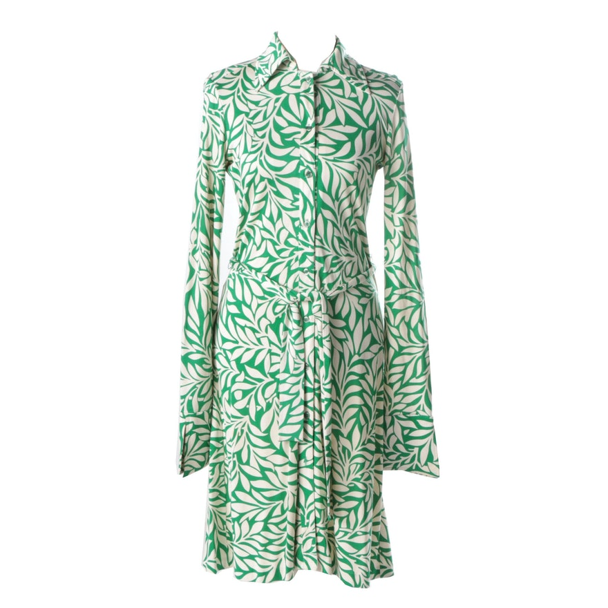 Diane von Furstenburg Silk Shirtwaist Dress