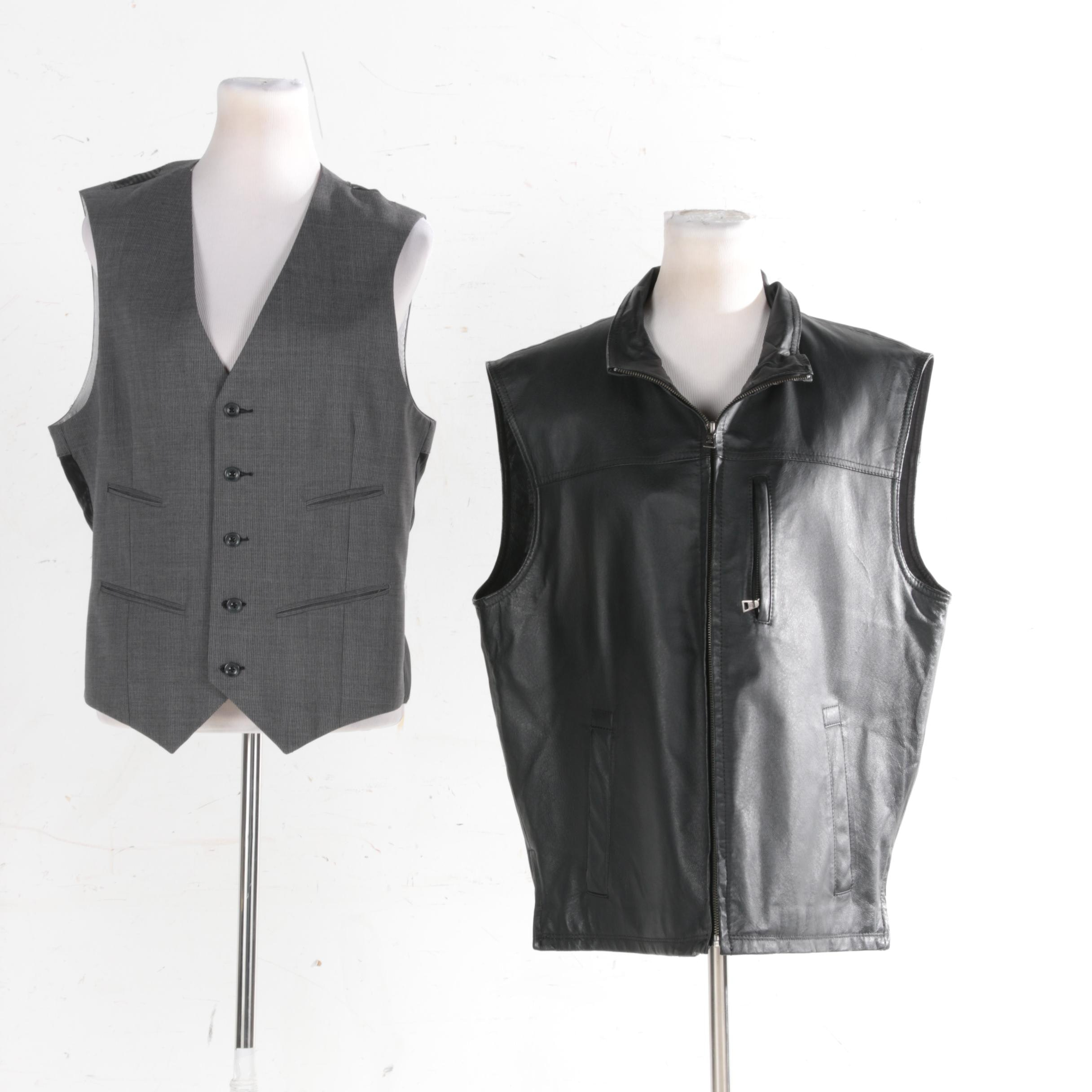 Men's Vests Including Danier