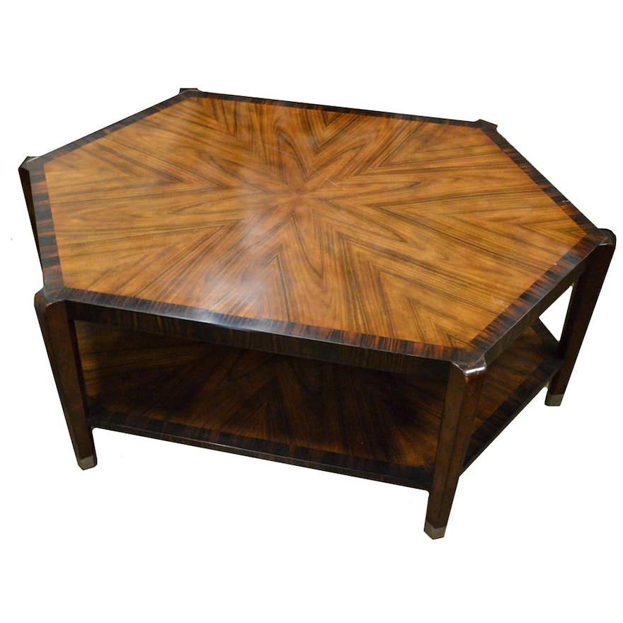 Vintage Mid Century Modern Rosewood Coffee Table By
