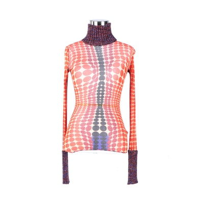 Jean Paul Gaultier Maille Turtleneck Shirt